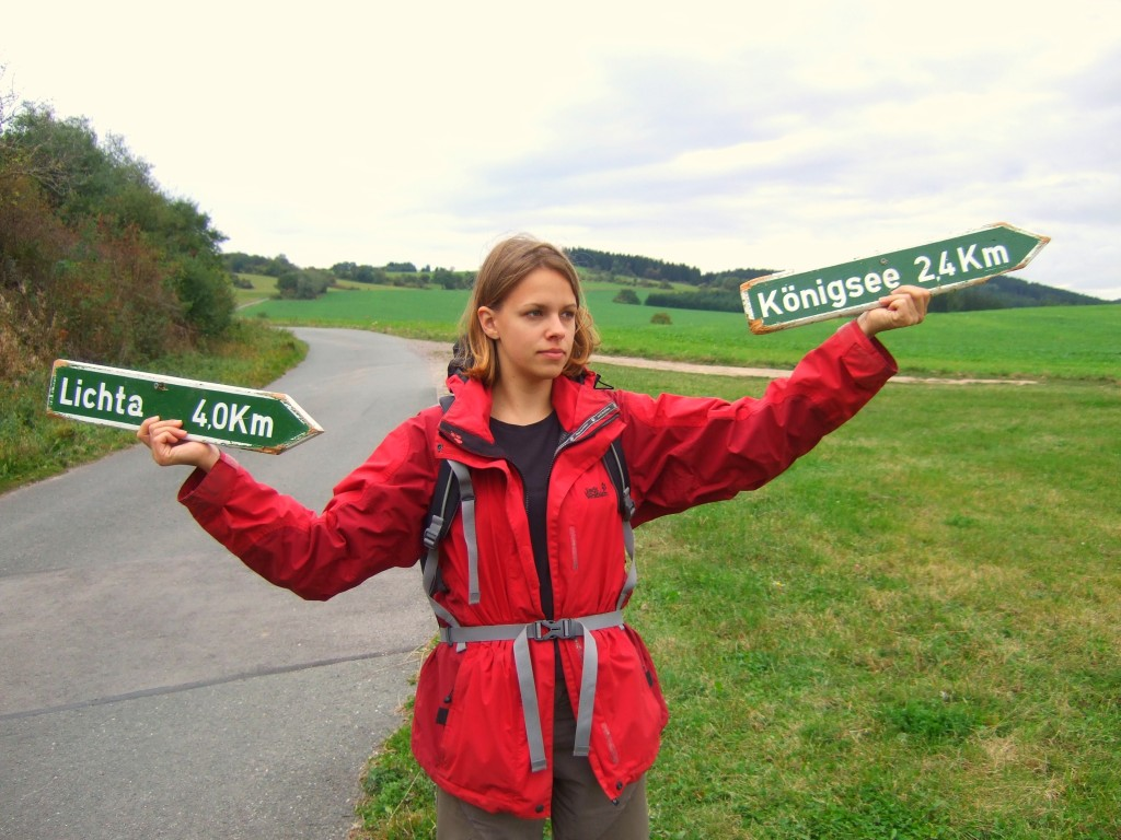 Schilder Panoramaweg