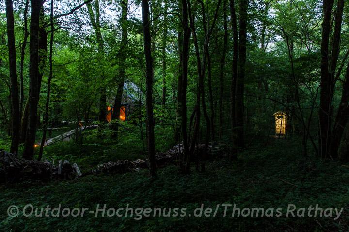 Outdoor Unterkunft Vent des Forêts