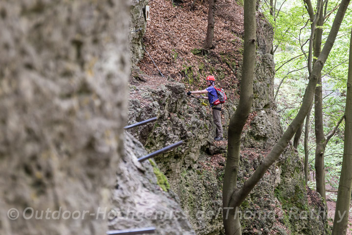 Klettersteig und Wanderweg *Norissteig*