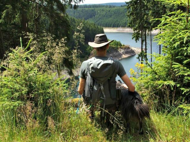 Schmalwassertalsperre-Thüringen