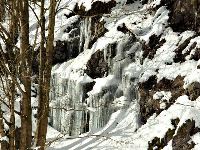 Talsperre Schönbrunn Winter