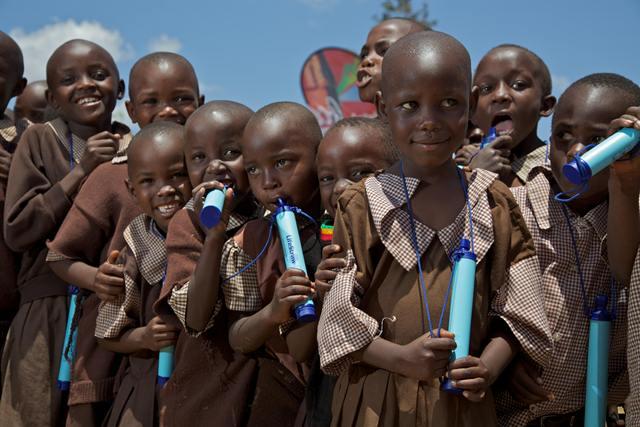 Wasserfilter-Afrika