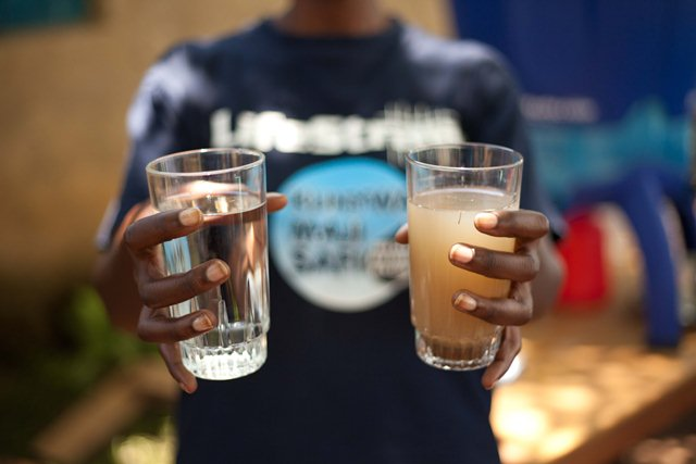 Wasserfilter-Leistung LifeStraw WaternNlife