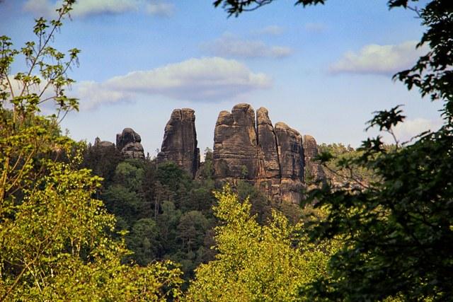 Steine Sächsische Schweiz