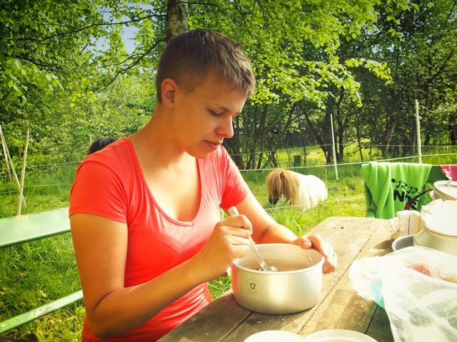 Frühstück mit Egon