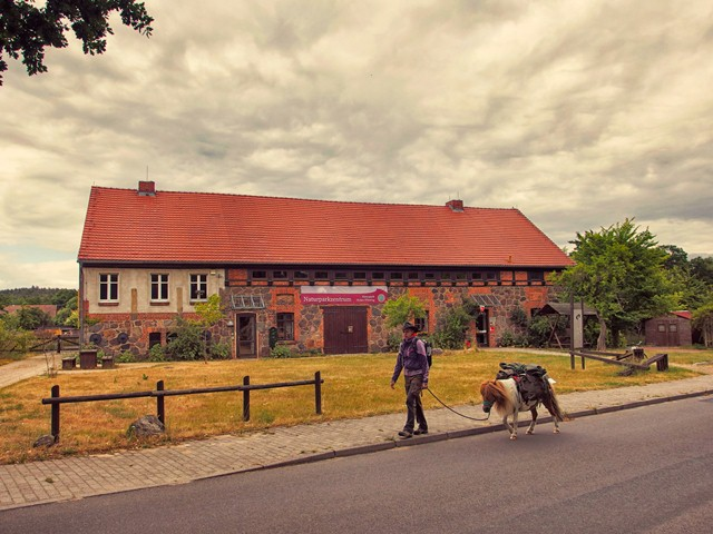 Naturparkzentrum Hoher Fläming Gebäude