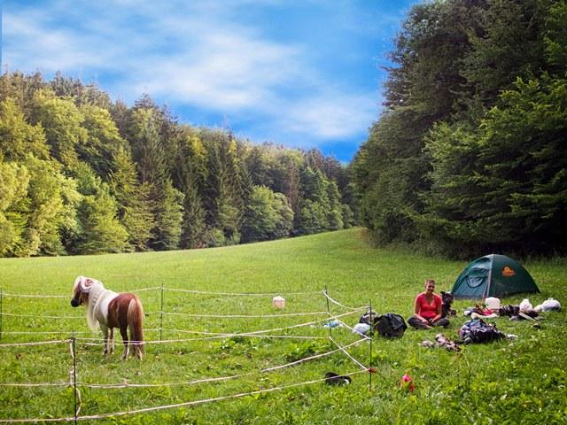 Zelten am Lahn-Dill-Berglandpfad
