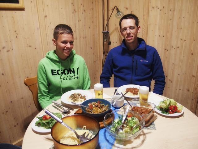 Essen im Schützenhaus Erdbach