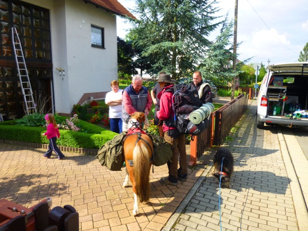 4-Tages Wanderung Begegnung