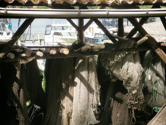 Fischernetze Mecklenburgische Seenplatte