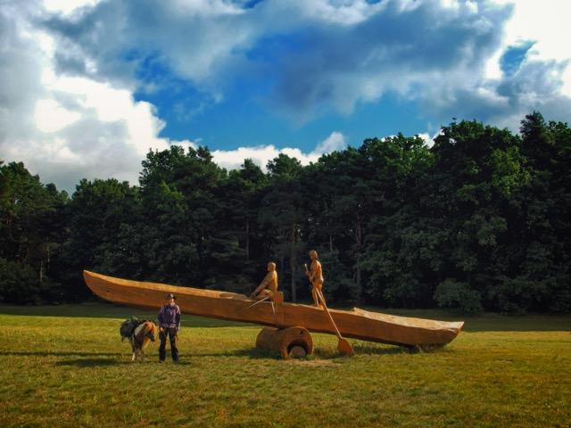 Kanu fahren Mecklenburgische Kleinseenplatte