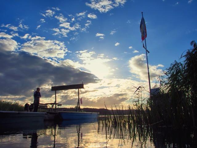 Sonnenaufgang in der Mecklenburgischen Kleinseenplatte