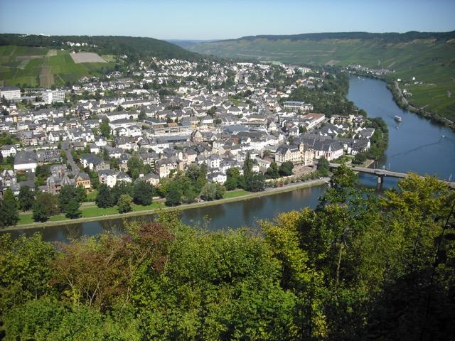 Bernkastel Aussicht Burg