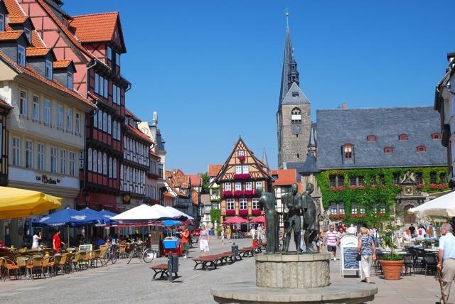 Quedlinburg Marktplatz