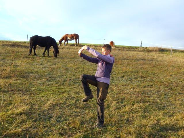 Fitnessübungen zum Wandern