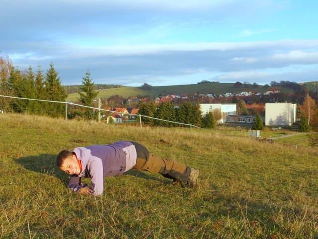 Fitnessübungen Training Wandern