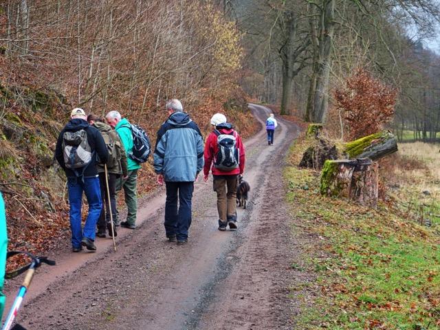 Gruppenwanderung Geopark Thüringen