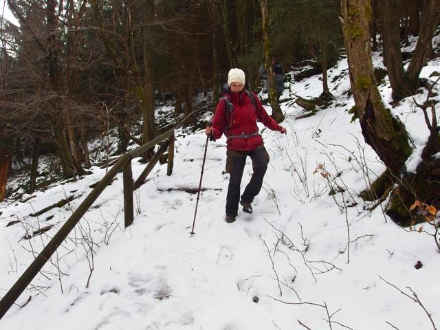 Winterwanderung Geopark Thüringen
