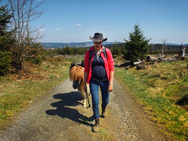 Schwanger wandern im Sauerland