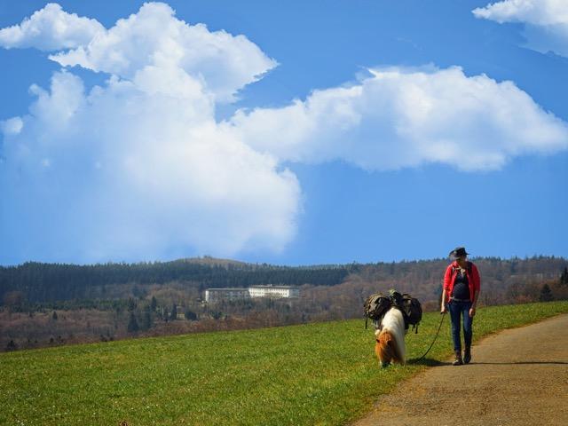 Schwanger Wanderung im Sauerland