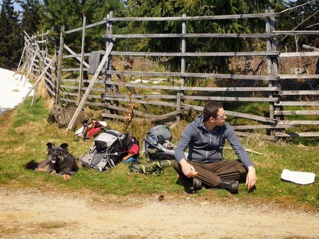 Wanderpause im Sauerland