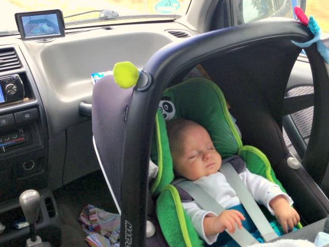 Mit dem Baby nach Holland