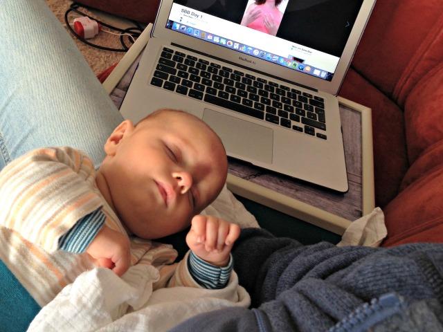 Arbeiten mit Baby