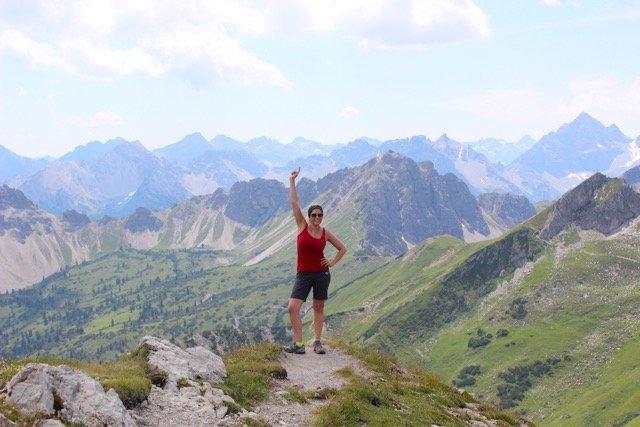 Berge und Wanderwege